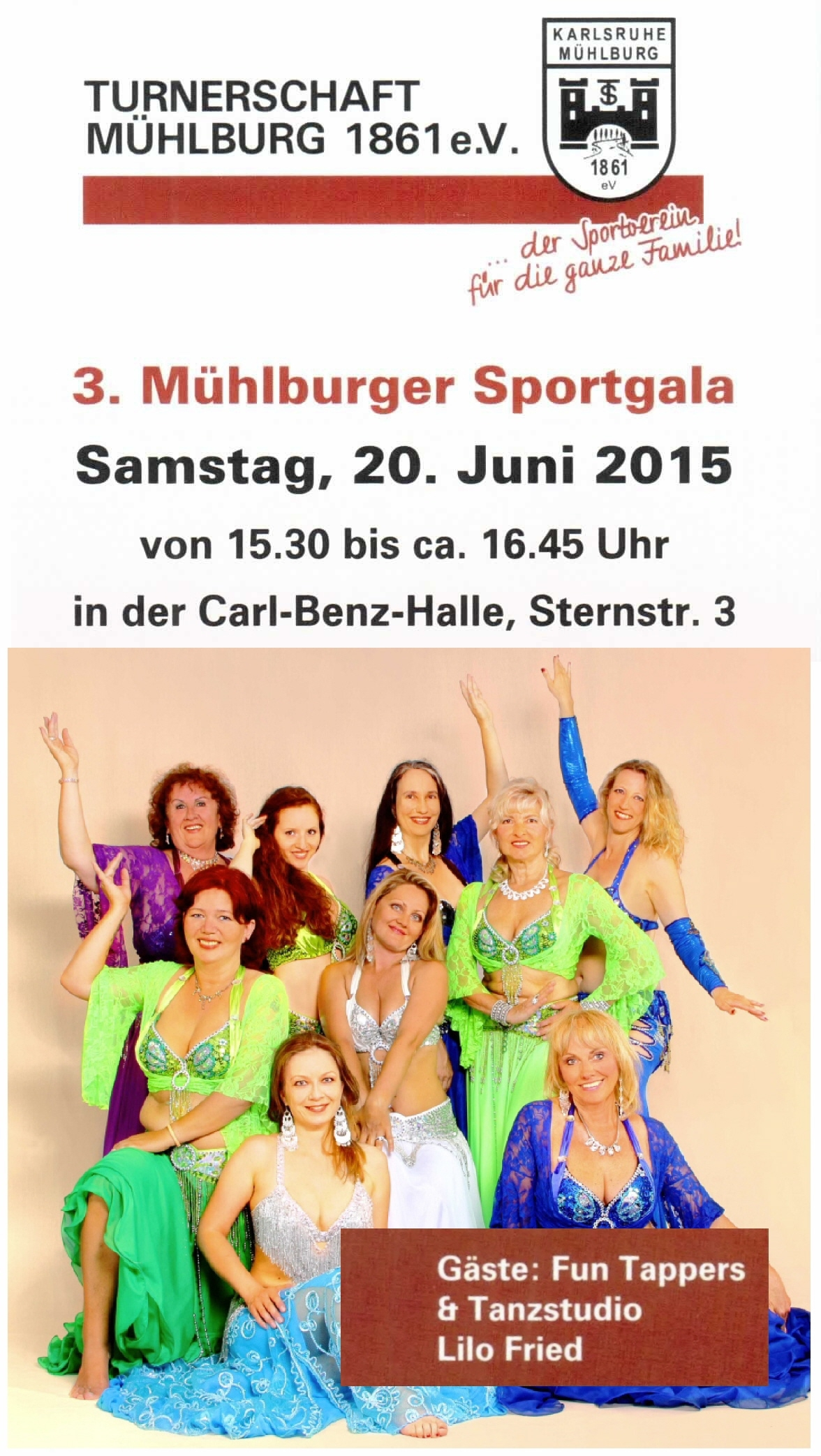 Artikel Mühlburger Sportgala Flyer gut