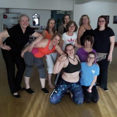WS Bellydance Fitness mit Elizabeth Rouge am 3.02.18