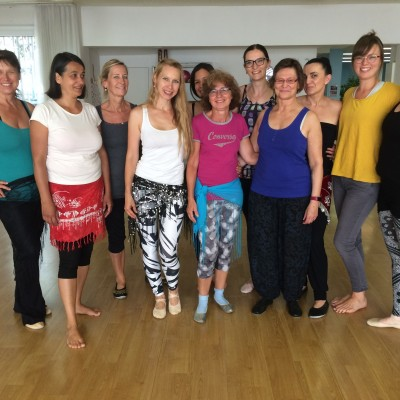 Workshop mit Anja Madlener am 15.07.2017