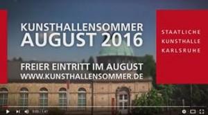 Kunsthallensommer 2016