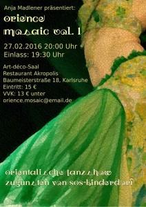 Orientalische Tanzshow mit Madlener
