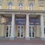 Schloss bei Ramses Ausstellung